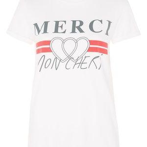 Merci Graphic Print T-Shirt